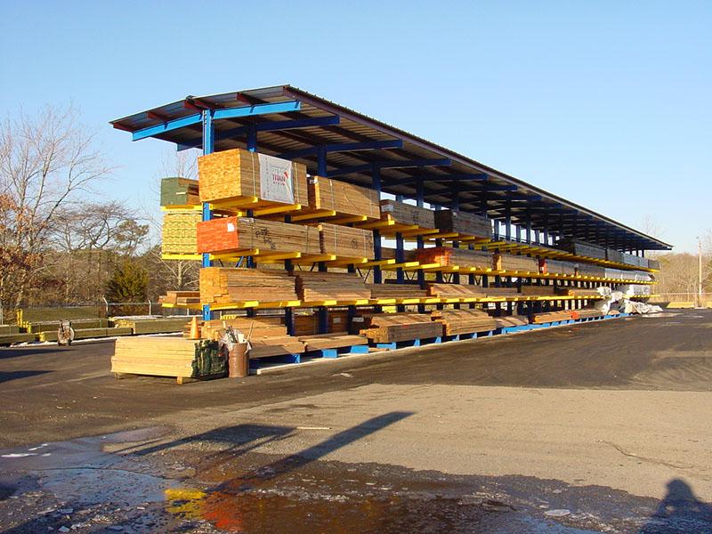 Lumberyard Cantilever T-Shed