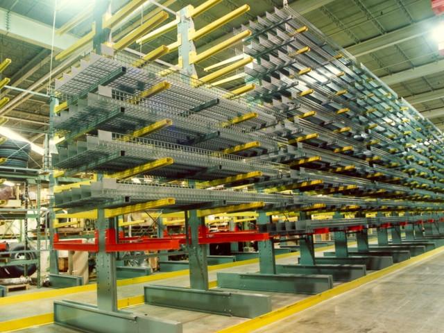 Cantilever Warehousing Storage Racks
