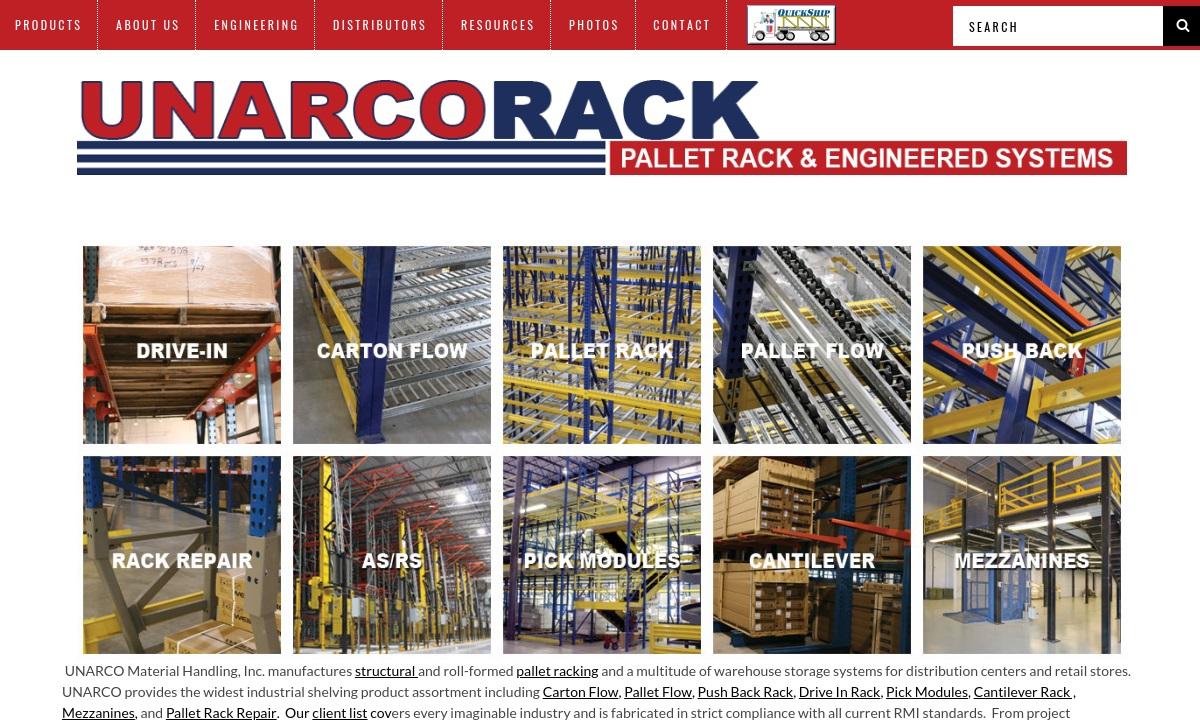 Unarco Material Handling, Inc.