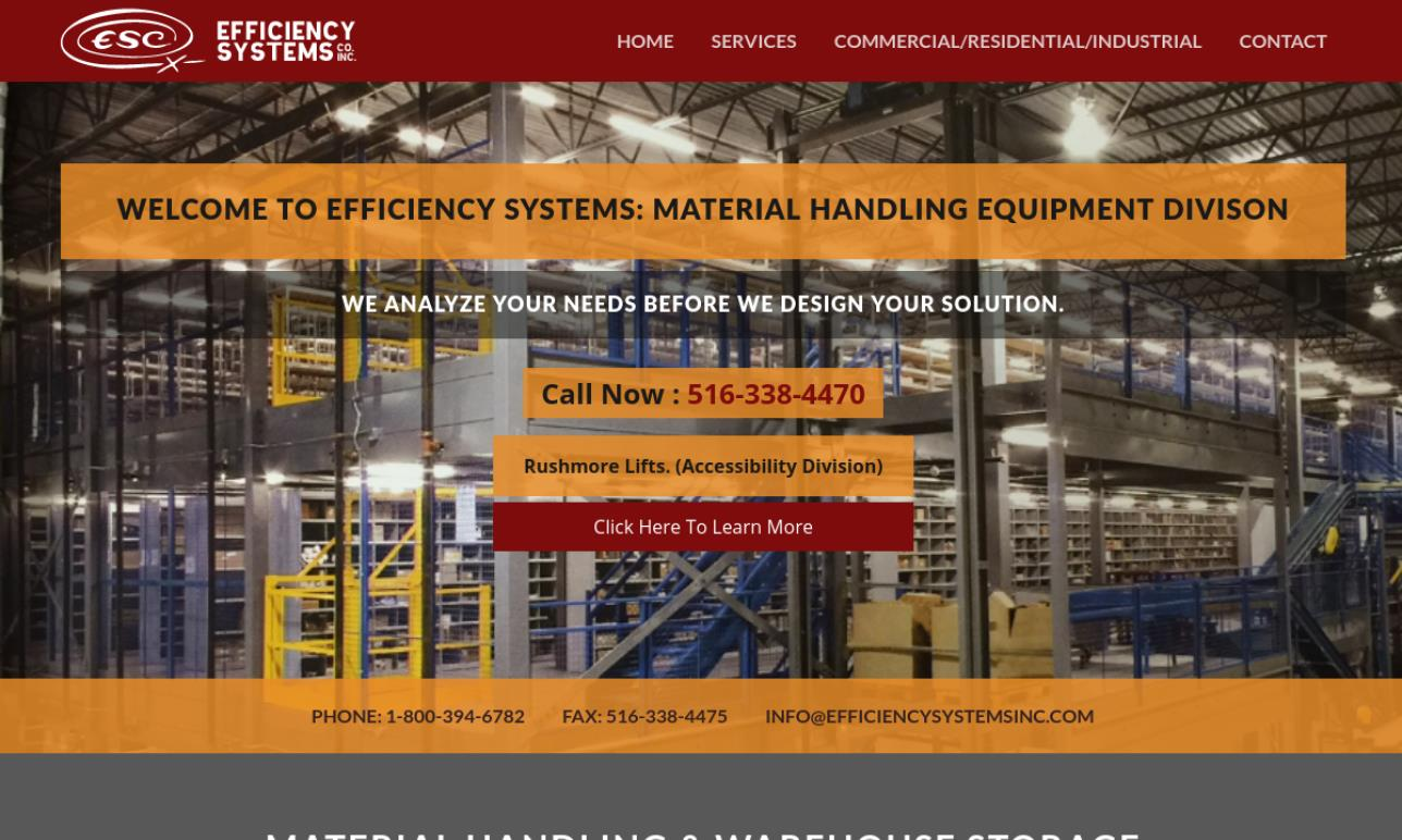 Efficiency Systems Co., Inc.