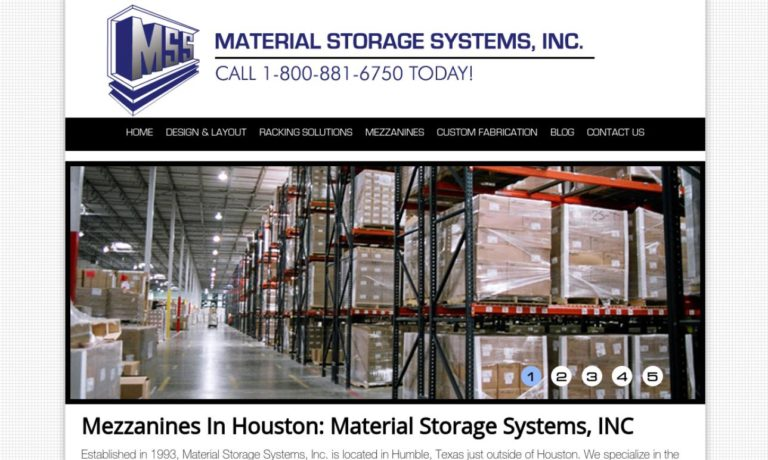 Material Storage Systems, Inc.