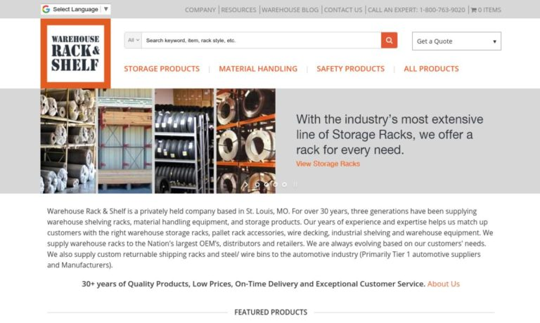 Warehouse Rack & Shelf, LLC