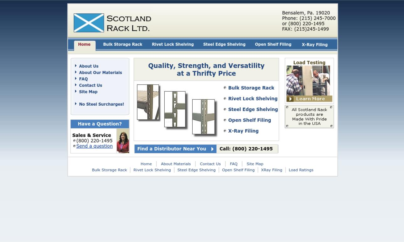 Scotland Rack, Ltd.