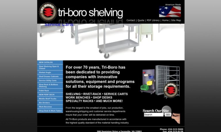 Tri-Boro Shelving & Partition Corporation