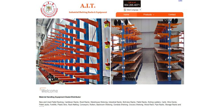 A.I.T. Industrial Shelving Racks & Equipment