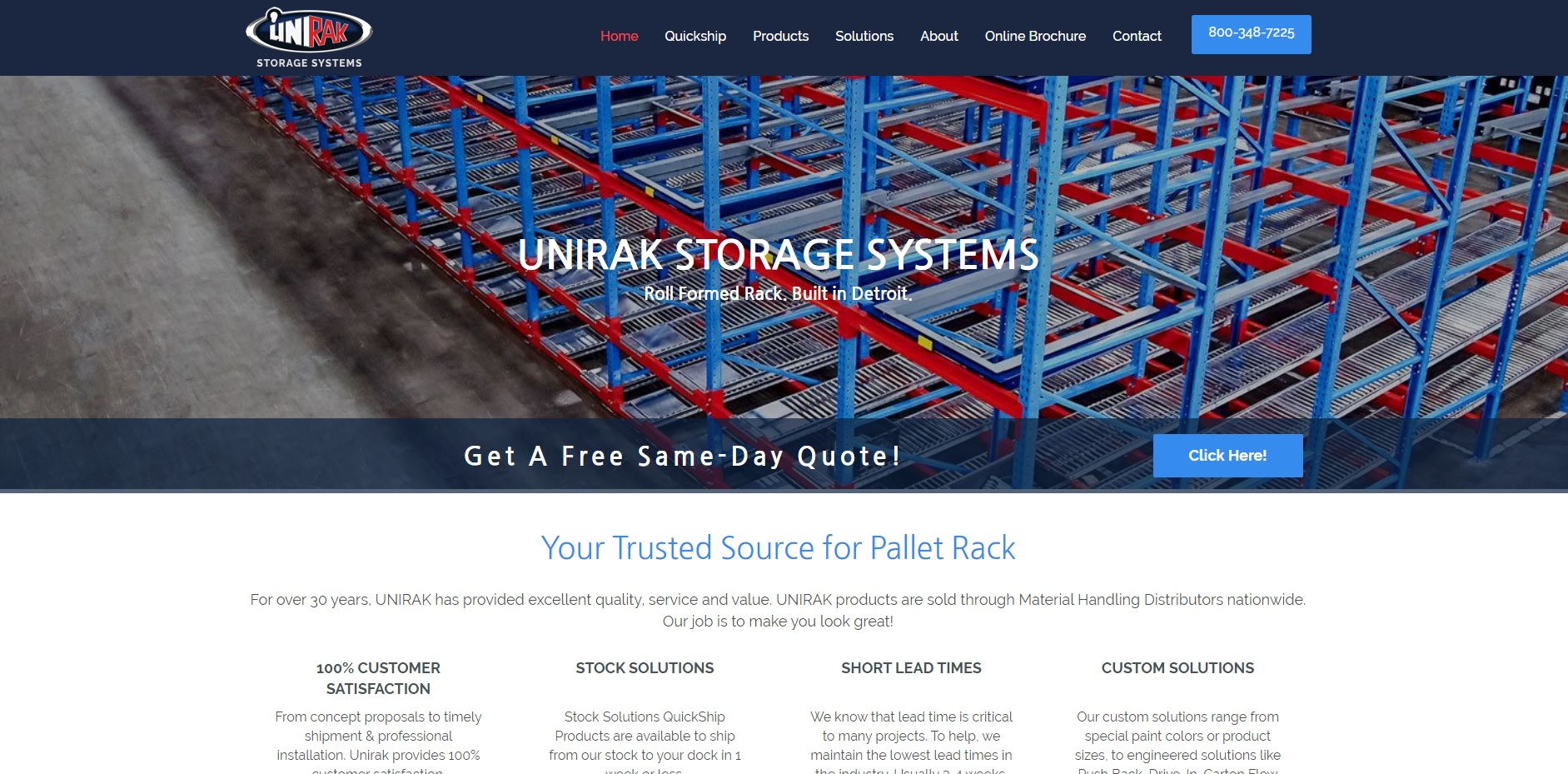 UNIRAK Storage Systems